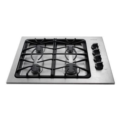 Cooktops Home Depot frigidaire 30 in gas cooktop in stainless steel with 4