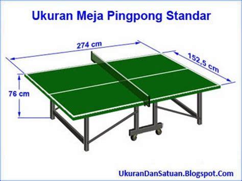 Harga Ukuran Meja Pingpong by Pingpong