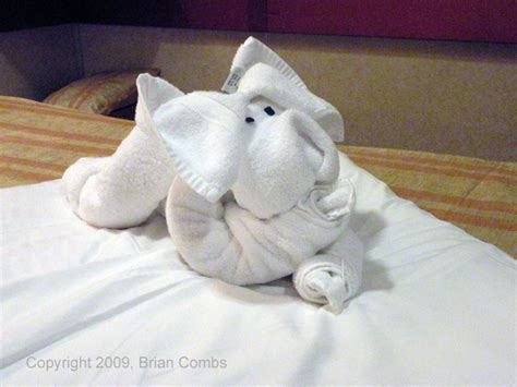 Animal Towel carnival cruise towel animals