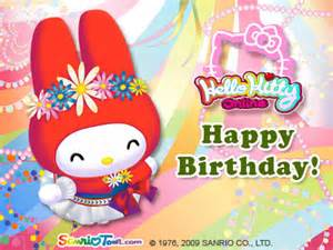 my melody birthday e card my melody photo 6973666 fanpop