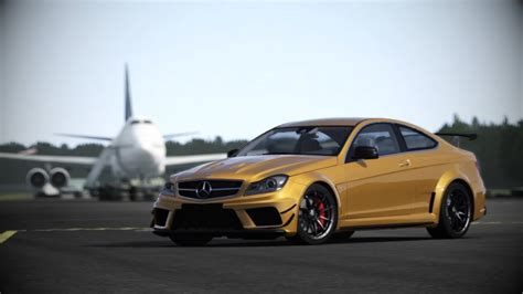 C Top Black forza motorsport 4 mercedes c63 amg black series at top
