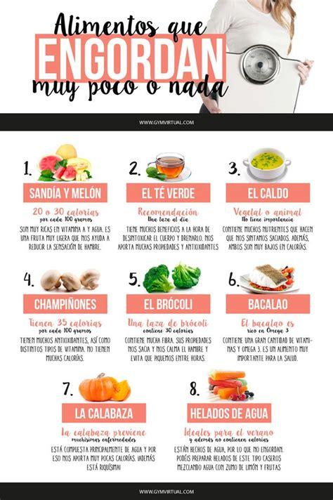 alimentos  engordan muy poco  nada comida alimentos comida  alimentos sanos