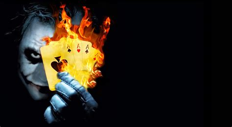 joker themes hd burning poker joker hd desktop wallpaper high definition