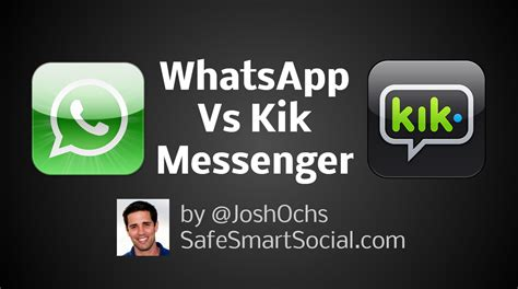 How To Find On Kik Messenger Whatsapp Vs Kik Messenger Safe Smart Social