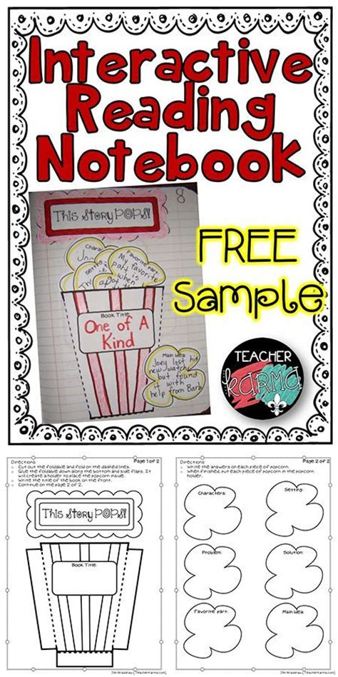 theme book report interactive reading notebooks reading notebooks and story