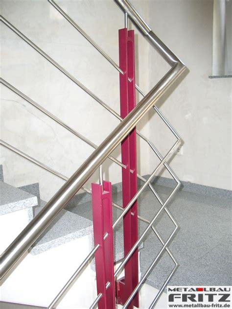 treppengeländer edelstahl außen edelstahl treppengel 228 nder innen 15 03 schlosserei