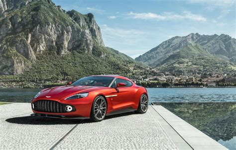 aston martin vanquish front aston martin vanquish zagato production car revealed