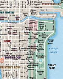 Chicago Streets Map by City Maps And Street Maps For Web Print And Display Media