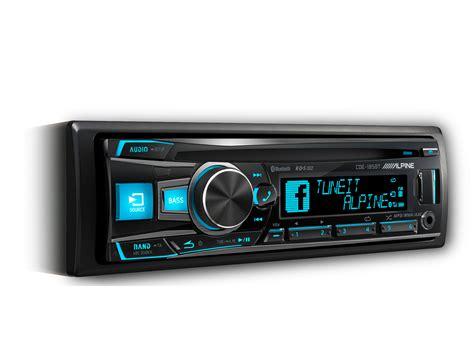 Alpine Cde 140e Like New cd receiver with advanced bluetooth 174 alpine cde 185bt