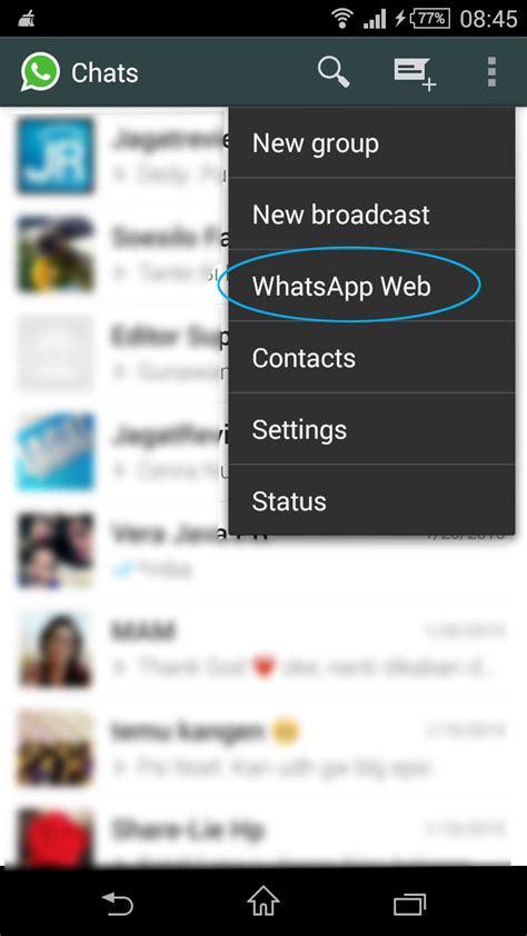 membuat web versi mobile dan desktop tips menggunakan whatsapp versi desktop di windows jagat