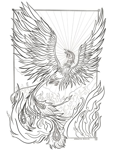 rebirth coloring page ben lew designer and drawer of