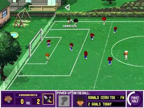play backyard soccer let s play backyard soccer first game 1 youtube