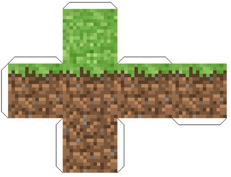 Papercraft Blocks - large minecraft papercraft templates papercraft