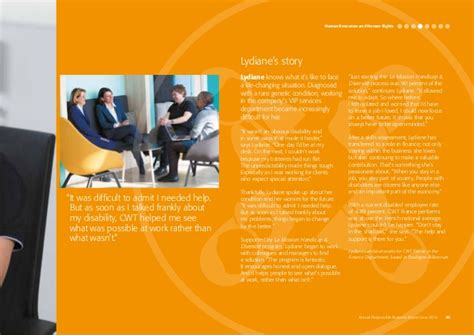 Cwt Help Desk by Cwt Sustainability Report 2016