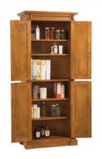 Free Standing Kitchen Storage Cabinets by Oak Pantry Storage Cabinet Foter