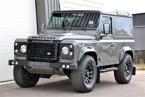 land rover defender 2015 black 2015 land rover defender 90 td4 top black pack