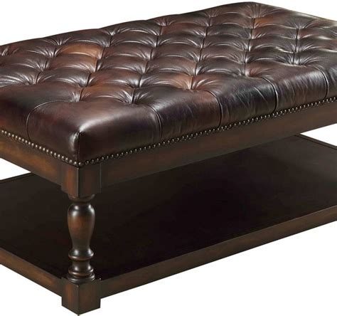 modern color leather ottoman interior home design 25 best ideas about tufted ottoman coffee table on