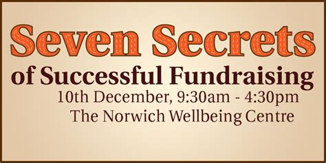 7 Secrets Of Successful by Seven Secrets Of Successful Fundraising Norwich