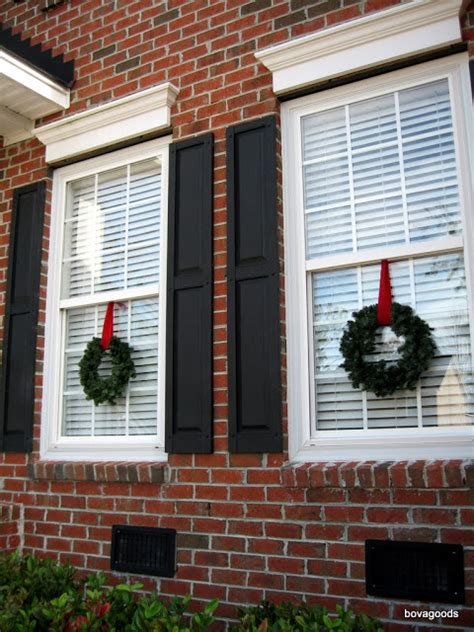 hang lights on windows how to hang wreaths from vinyl windows