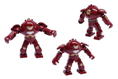 Figur Tinggi 11cm 1 jual lego decool iron buster heroes no 0181