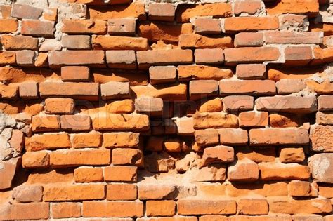 House Plans Online Free it depicts an old brick wall crumbling stock photo