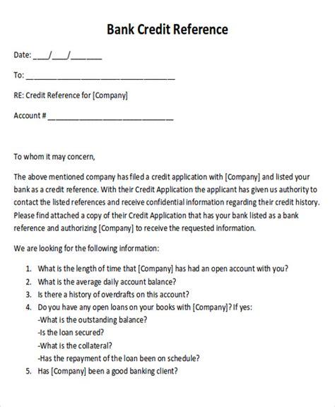 Recommendation Credit Letter reference letter formats