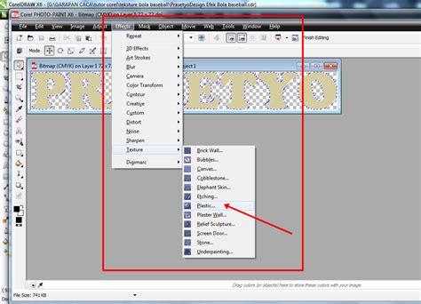 cara membuat layout per halaman belajar coreldraw cara membuat teks prasetyo design efek bola baseball di