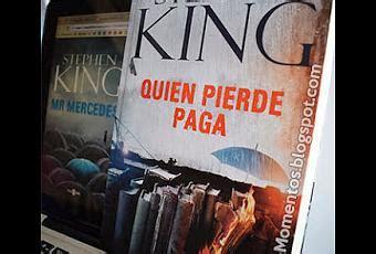 libro quien pierde paga quien pierde paga stephen king rese 241 a libro paperblog