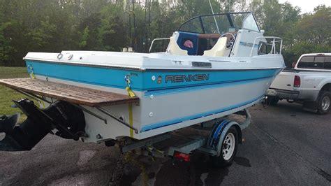 1987 renken boat renken 2280 1987 for sale for 6 950 boats from usa