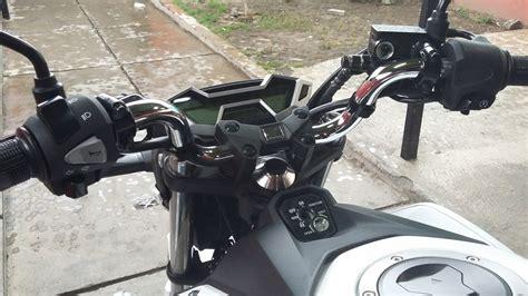 Stang Tiger Revo By Agungvariasi ganti setang all new cb150r pake punya vixion dan