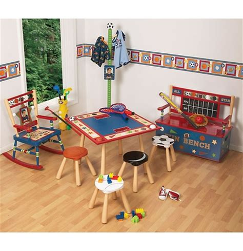 all star bench all star sports toy box bench by levels of discovery