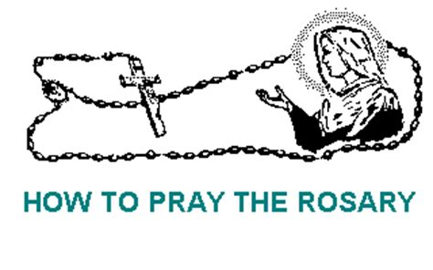 how to use rosary holy rosary how to pray