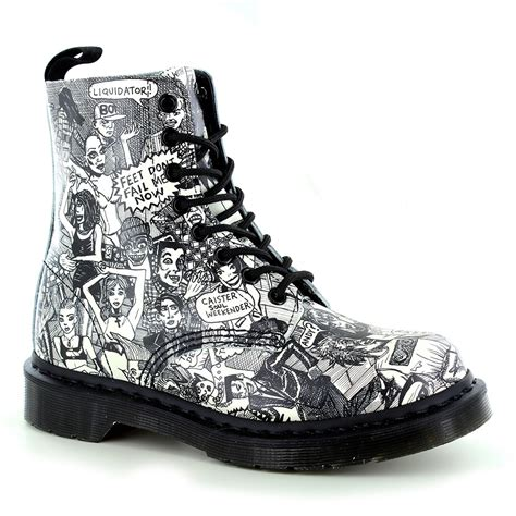 dr martens pascal womens leather 8 eyelet