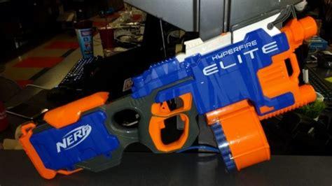 nerf best gun in the world the fastest nerf gun in motion