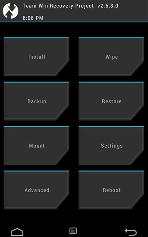 twrp recovery apk how to root oneplus 2 and install twrp recovery