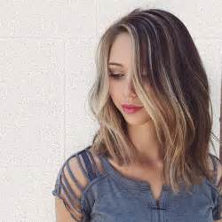 brown highlited bob haircuts 27 beautiful long bob hairstyles shoulder length hair