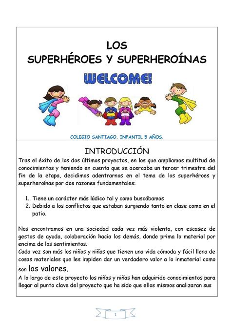 max y los superhroes calam 233 o proyecto superh 233 roes padres pdf