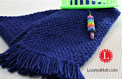 how to loom knit a scarf on loom loom knit scarf on any loom for beginners loomahat