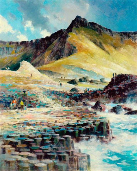 Landscape Artists Northern Ireland S Causeway Northern Ireland Uk Uk