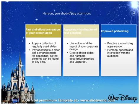 free disney powerpoint templates disney world powerpoint template