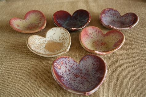 Handmade Ceramic Gifts - shaped ceramic catch all bowl soap dish or jewelry