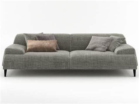 cave sofa 240 3d model bonaldo