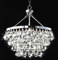 Modern Glass Chandelier Lighting Indoor 5 Light Luxury Crystal Chandelier Contemporary