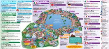 map of epcot florida area epcot