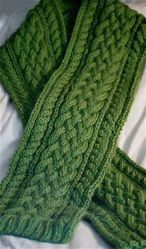 celtic cable knit scarf pattern celtic braid scarf pattern by deborah lawless patterns