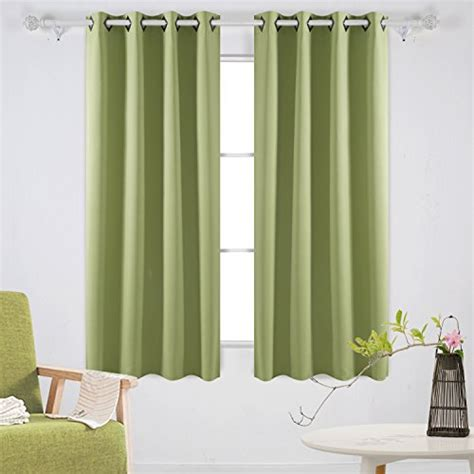 blackout curtains with grommets deconovo room darkening panels thermal blackout curtains