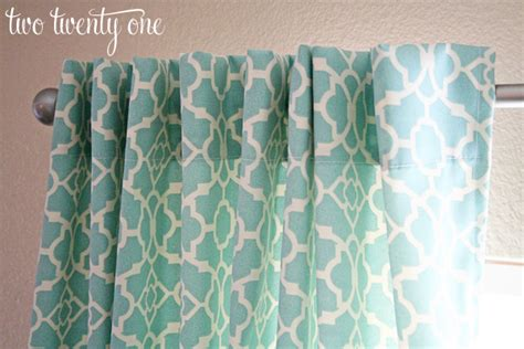how to sew curtains with rings how to make curtains diy two twenty one