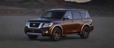 nissan armada 2017 issues 2017 nissan armada gets a full size update consumer reports