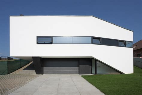 Home White Truly Modern House Design With Cool Interior In Black And