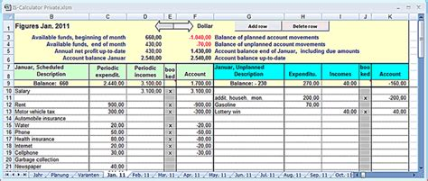 Income And Expenses Excel Spreadsheet Onlyagame Excel Income Expense Template